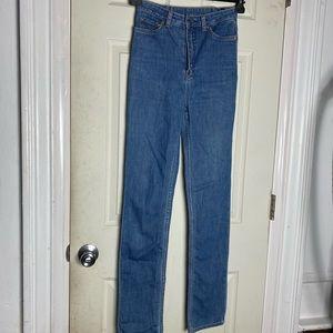 BLK Denim jeans 6 womens blue euc